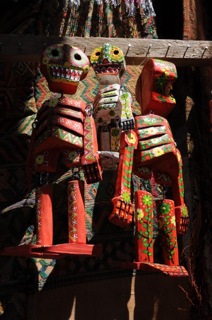 Sztuka ludowa, Chichicastenango, Gwatemala, fot. Ula Kupińska