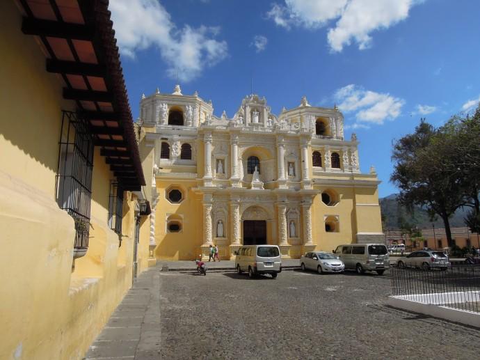 Kościół La Merced, Antigua, Gwatemala, fot. M. Lehrmann fot. M. Lehrmann