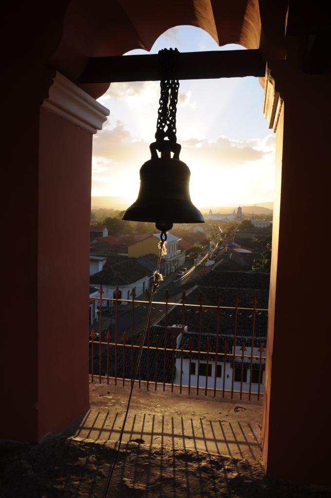 Dzwonnica kościoła La Merced, Granada, Nikaragua, fot. Ula Kupińska