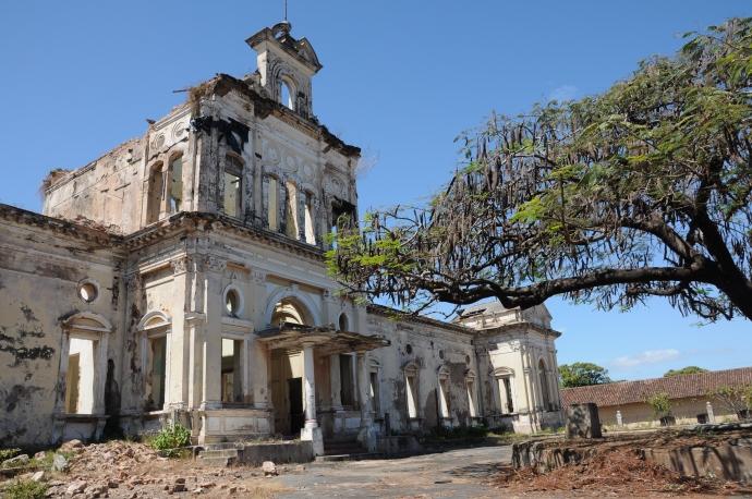Ruiny kościoła, Granada, fot. Ula Kupińska