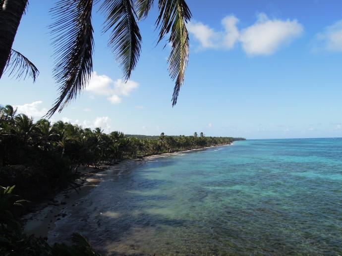 Druga strona Little Corn Island, fot. M. Lehrmann