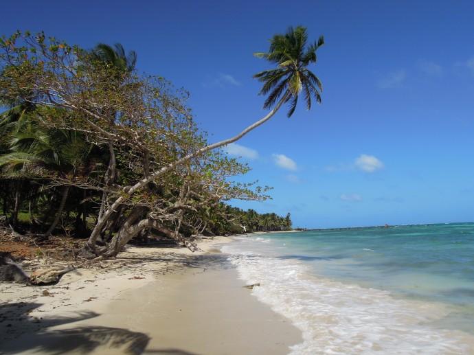 Pusta plaża, Little Corn Island, fot. M. Lehrmann
