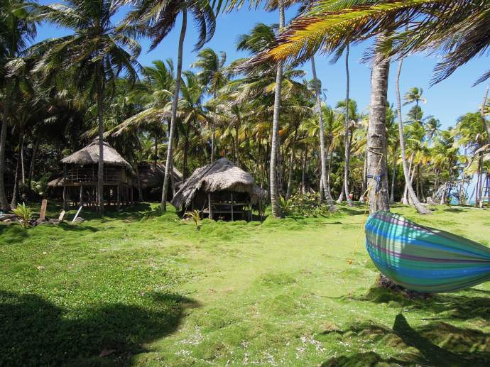 Luksusowe bungalowy, Little Corn Island, fot. M. Lehrmann