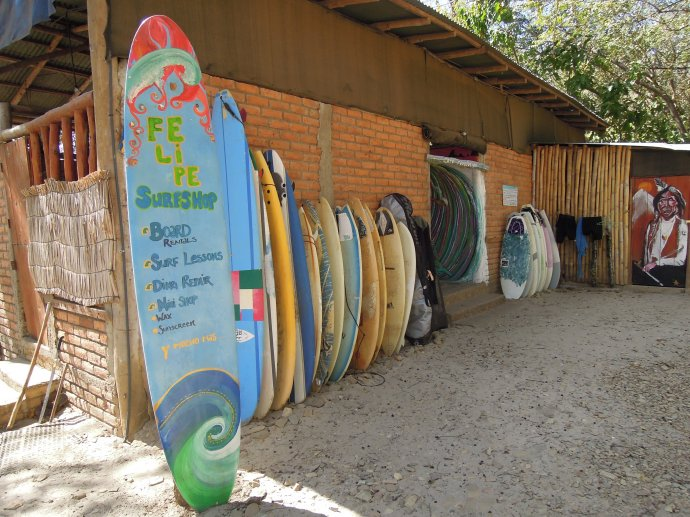 Szkoła surfowania, Playa Maderas, San Juan del Sur, fot. M. Lehrmann