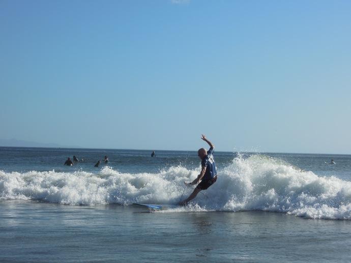 Nie jest łatwo być początkującym, Playa Maderas, Nikaragua, fot. M. Lehrmann