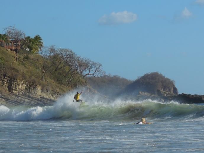 Walka z żywiołem, San Juan del Sur, Nikaragua, fot. M. Lehrmann
