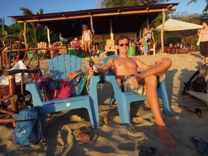 Zasłużony odpoczynek, San Juan del Sur, Nikaragua, fot. A. Mielczarek