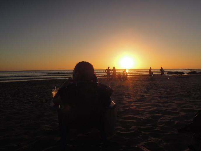 Margarita o zachodzie słońca nad Pacyfikiem, Playa Maderas, Nikaragua, fot. M. Lehrmann