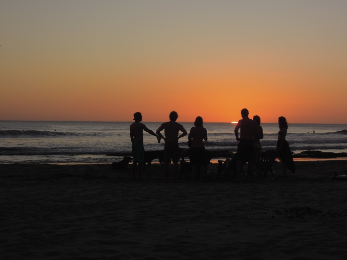 Chill out, Wybrzeże Pacyfiku, San Juan del Sur, Nikaragua, fot. M. Lehrmann