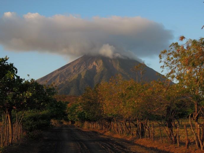 Potężny wulkan Concepcion, Isla de Ometepe, Nikaragua, fot. M. Lehrmann