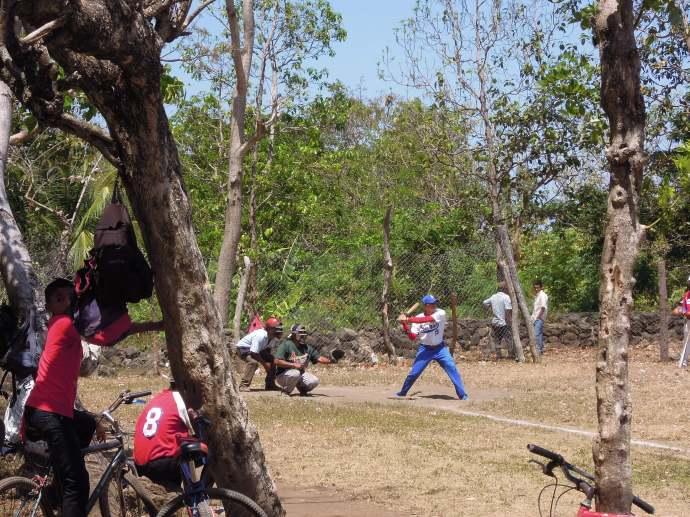 Niedzielny mecz baseballowy, Isla de Ometepe, Nikaragua, fot. M. Lehrmann