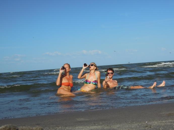 Ciepłe wody Jeziora Nicaragua, fot. anonim