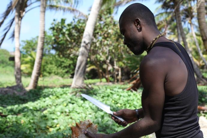 Muszle też są jadalne, Little Corn Island, fot. Iona Hodgson