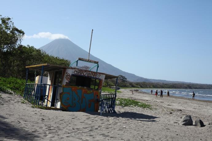 Playa Santo Domingo, Isla de Ometepe, Nikaragua, fot. Iona Hodgson