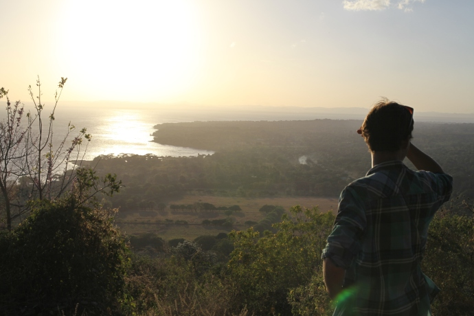 Zachód słońca, Isla de Ometepe, Nikaragua, fot. Iona Hodgson