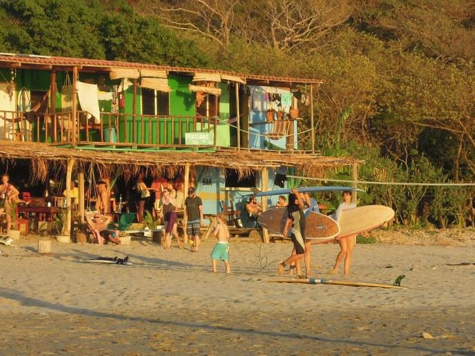 Hostel na plaży Maderas, San Juan del Sur, Nikaragua, fot. M. Lehrmann