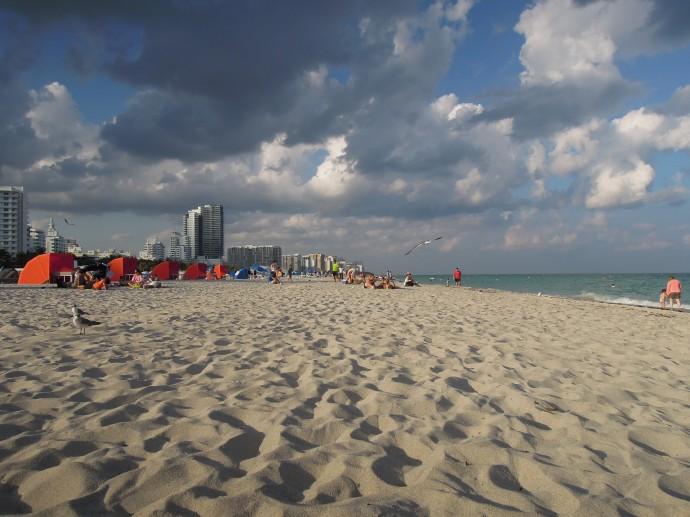 Hotele z widokiem na morze, Miami Beach, fot. M. Lehrmann