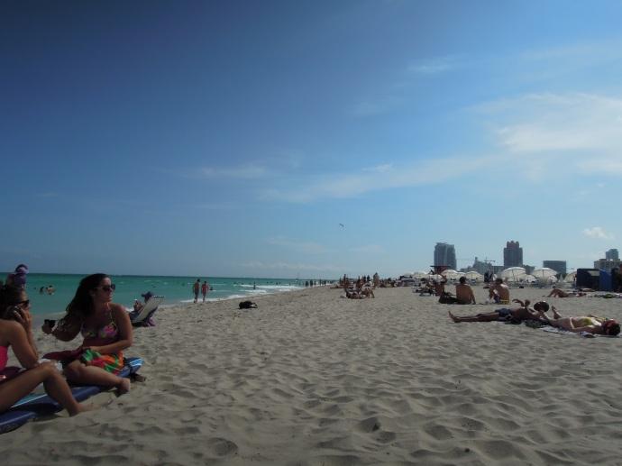 Popołudnie na plaży, Miami Beach, fot. M. Lehrmann