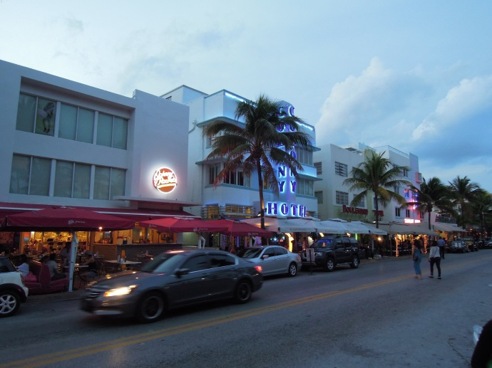 Ocean Drive, South Beach, Miami, fot. M. Lehrmann