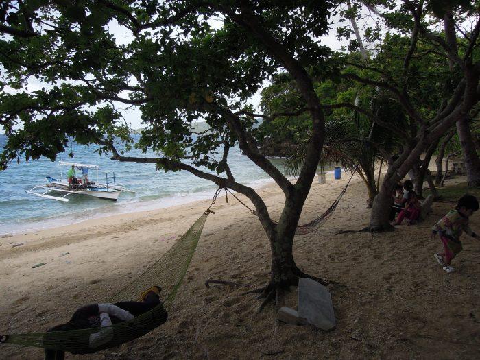 Niebiański spokój, plaża Talipasak, fot. M. Lehrmann