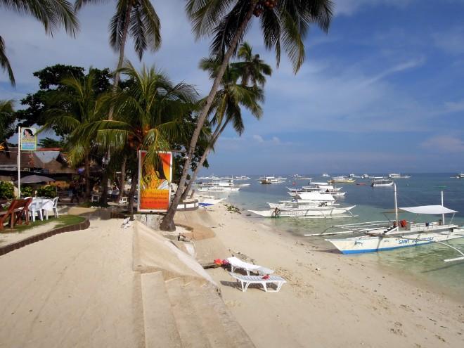 Alona Beach, Panglao, Filipiny, fot. M. Lehrmann