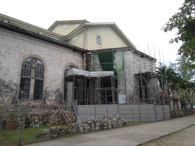 Parafia Wniebowzięcia, Dauis, Bohol, fot. M. Lehrmann