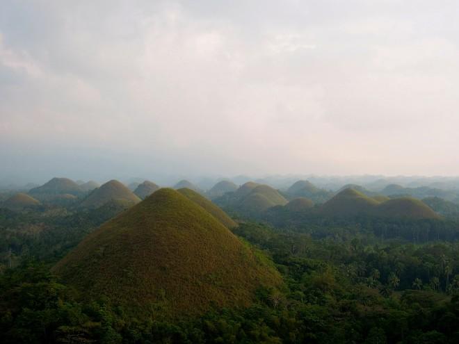 Czekoladowe Wzgórza, Bohol, fot. M. Lehrmann