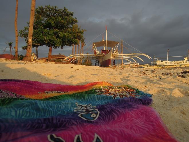 Ostatnie promienie słońca, Malapascua, Filipiny, fot. M. Lehrmann