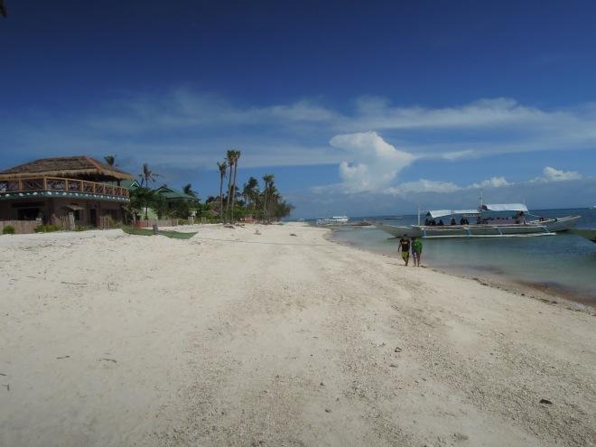 Pusta plaża, Malapascua, Filipiny, fot. M. Lehrmann