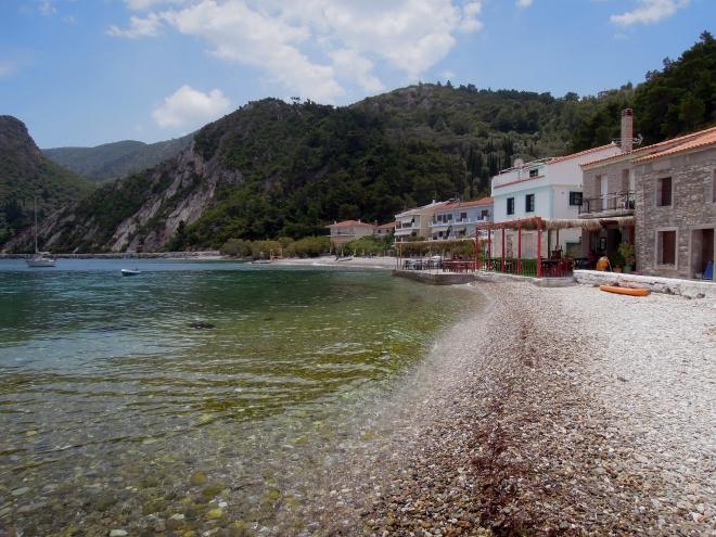 Spokojna zatoka Avlakia, Samos, fot. M. Lehrmann