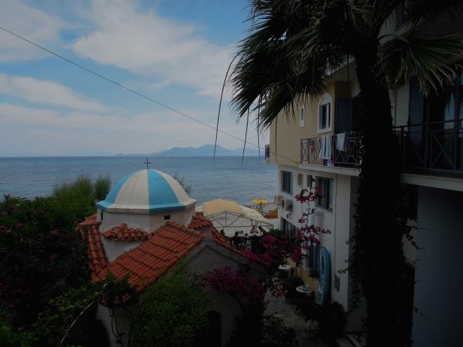 Grecki krajobraz, Avlakia, Samos, fot. A. Mielczarek