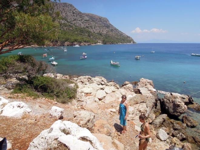 Kąpiel, Mourtia, Samos, fot. M. Lehrmann