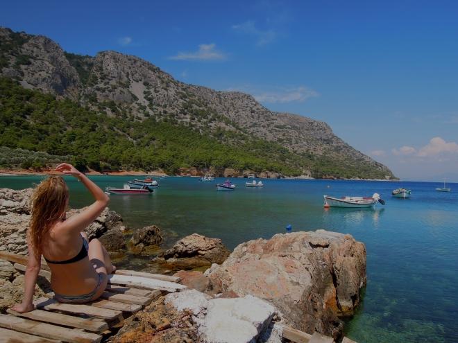 Woda i słońce, Mourtia, Samos, M. Lehrmann