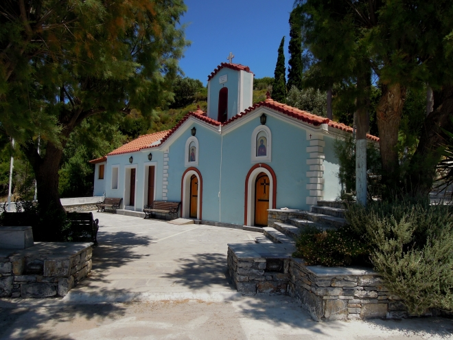 Świątynia, Agia Paraskevi, Samos, fot. A. Mielczarek