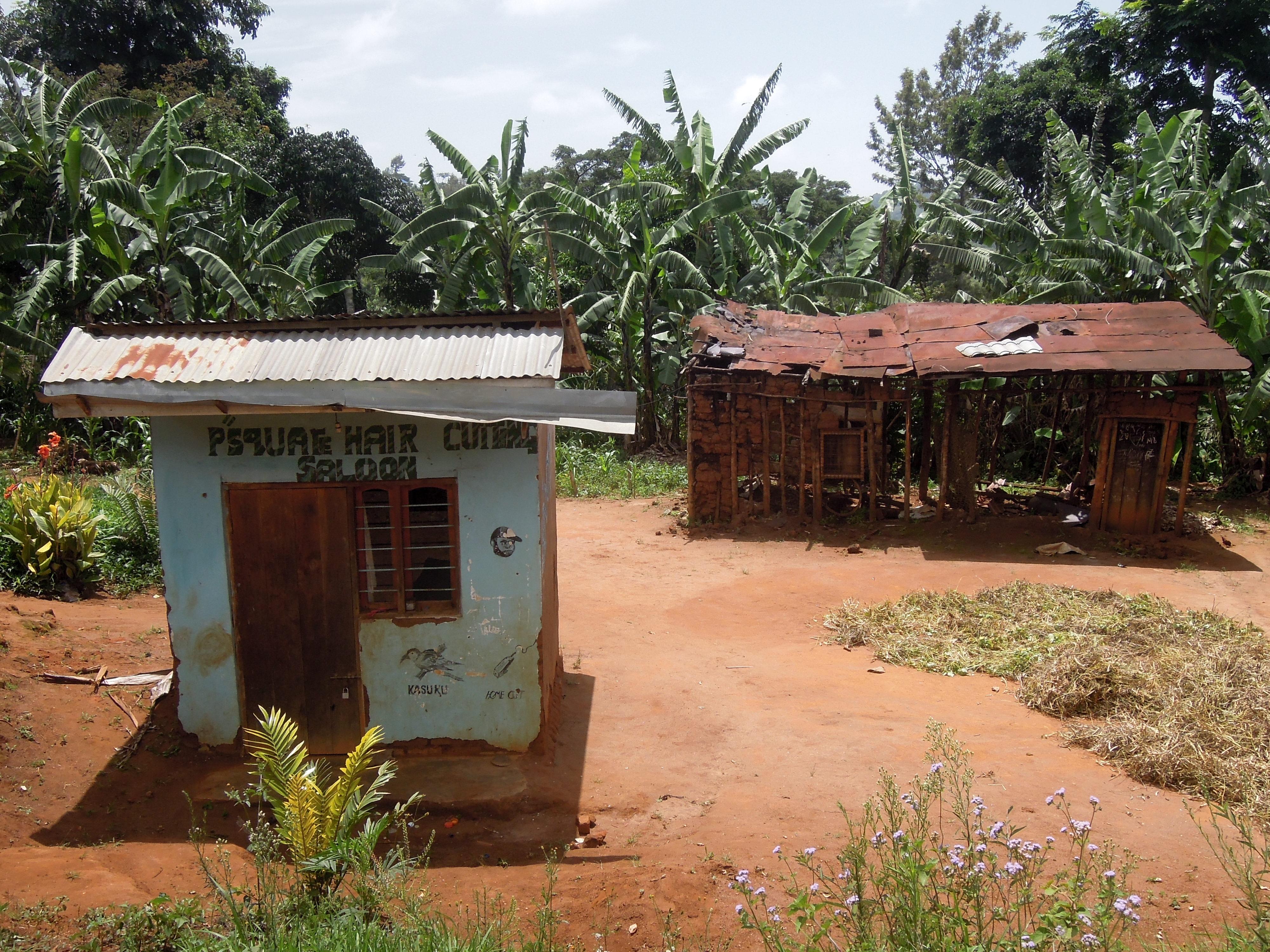 Salon fryzjerski, Irente, Usambara Mountains, Tanzania, fot. M. Lehrmann
