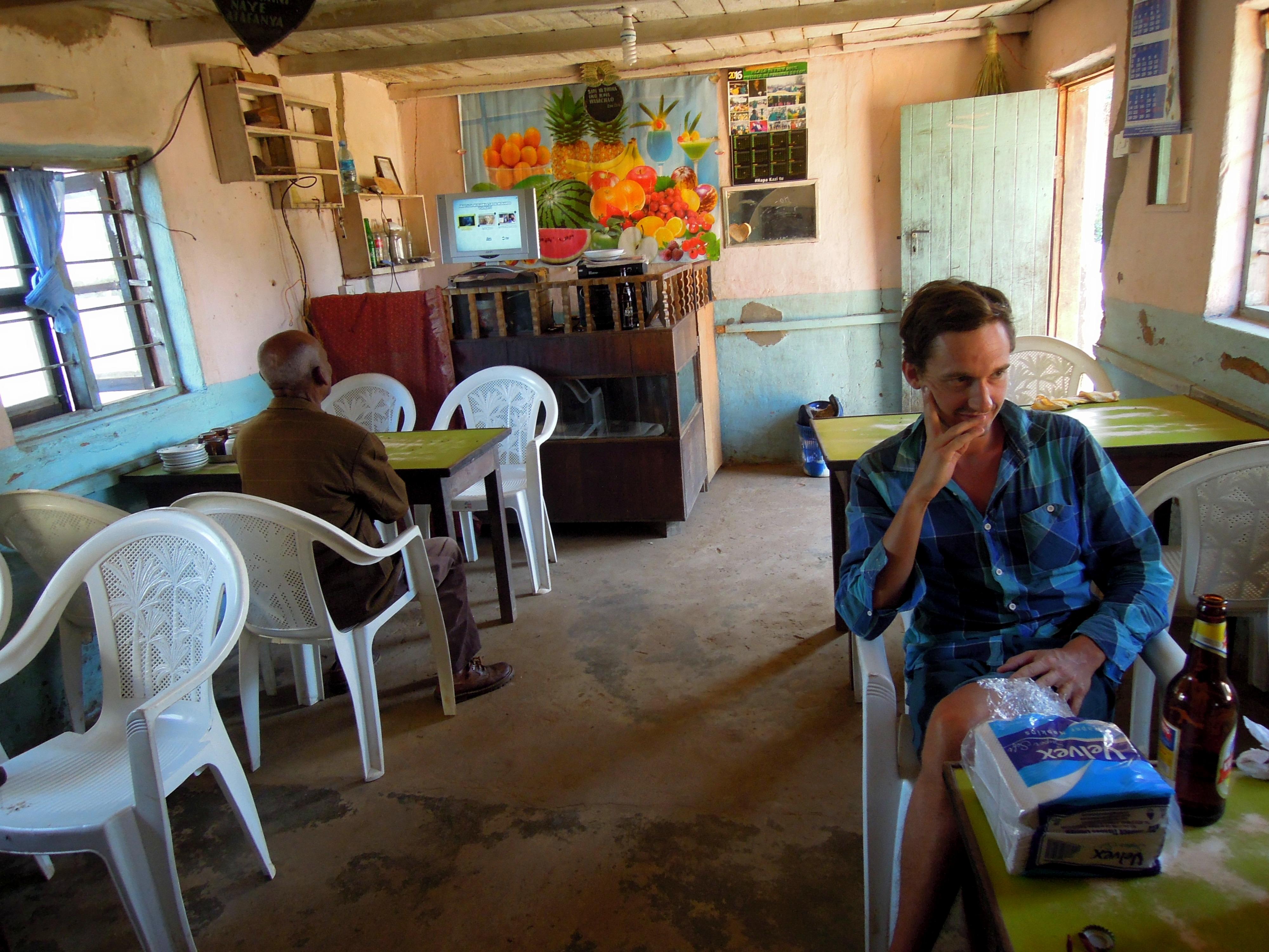 Restauracja, Mtae Village, Usambara Mountains, Tanzania, fot. M. Lehrmann