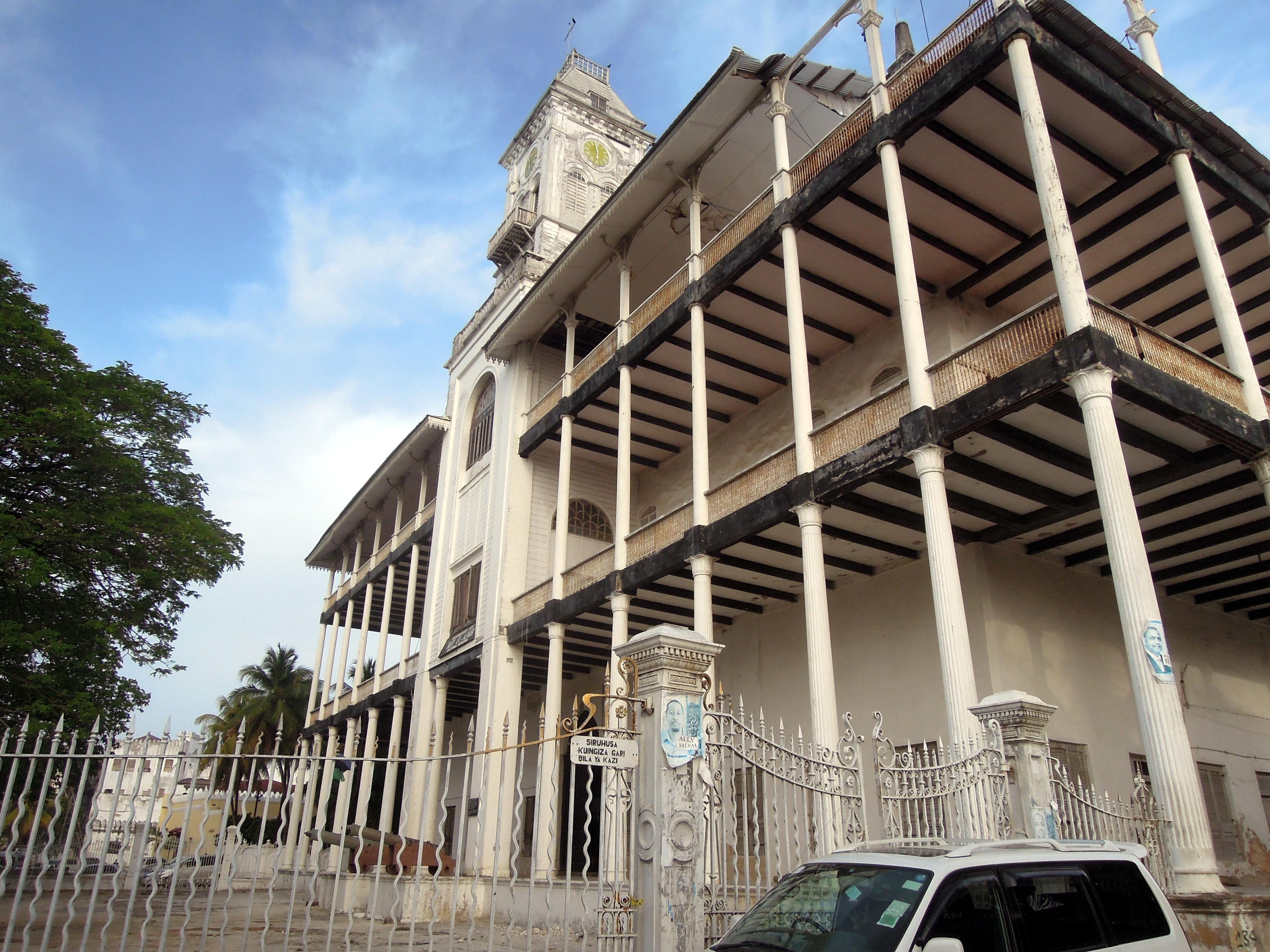 House of wonders, kiedyś pałac sułtana, Stone Town, Zanzibar, Tanzania, fot. M. Lehrmann