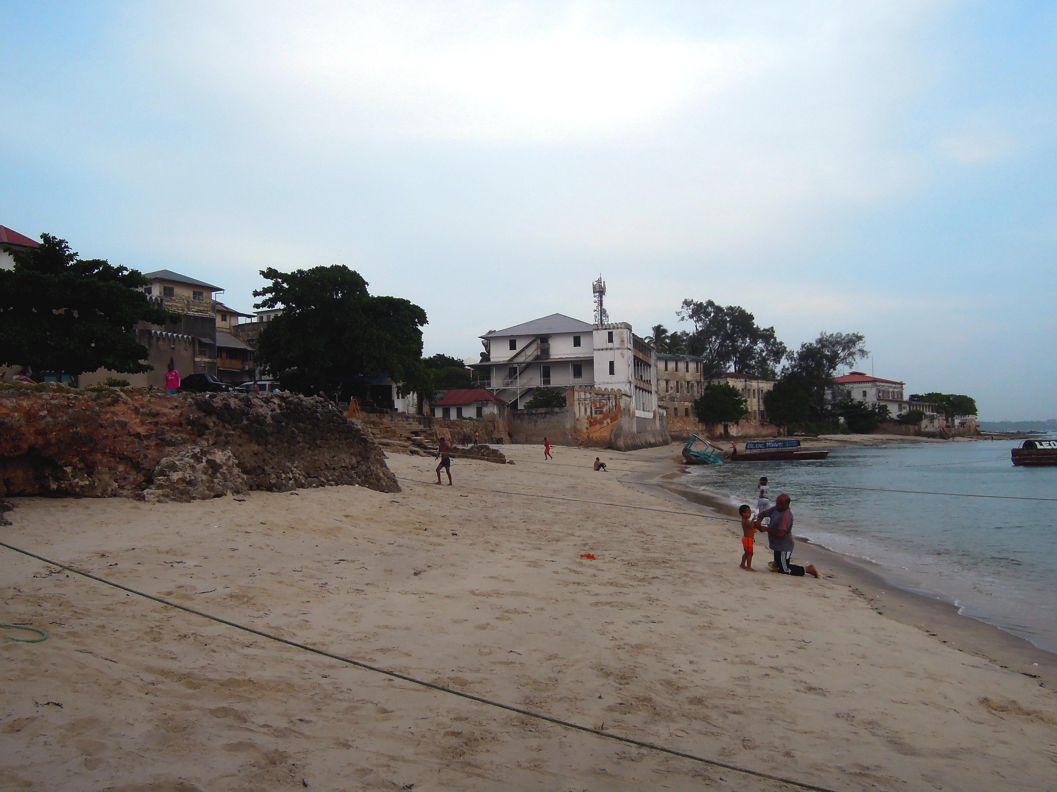 Nadbrzeżne wille, Stone Town, Zanzibar, Tanzania, fot. M. Lehrmann