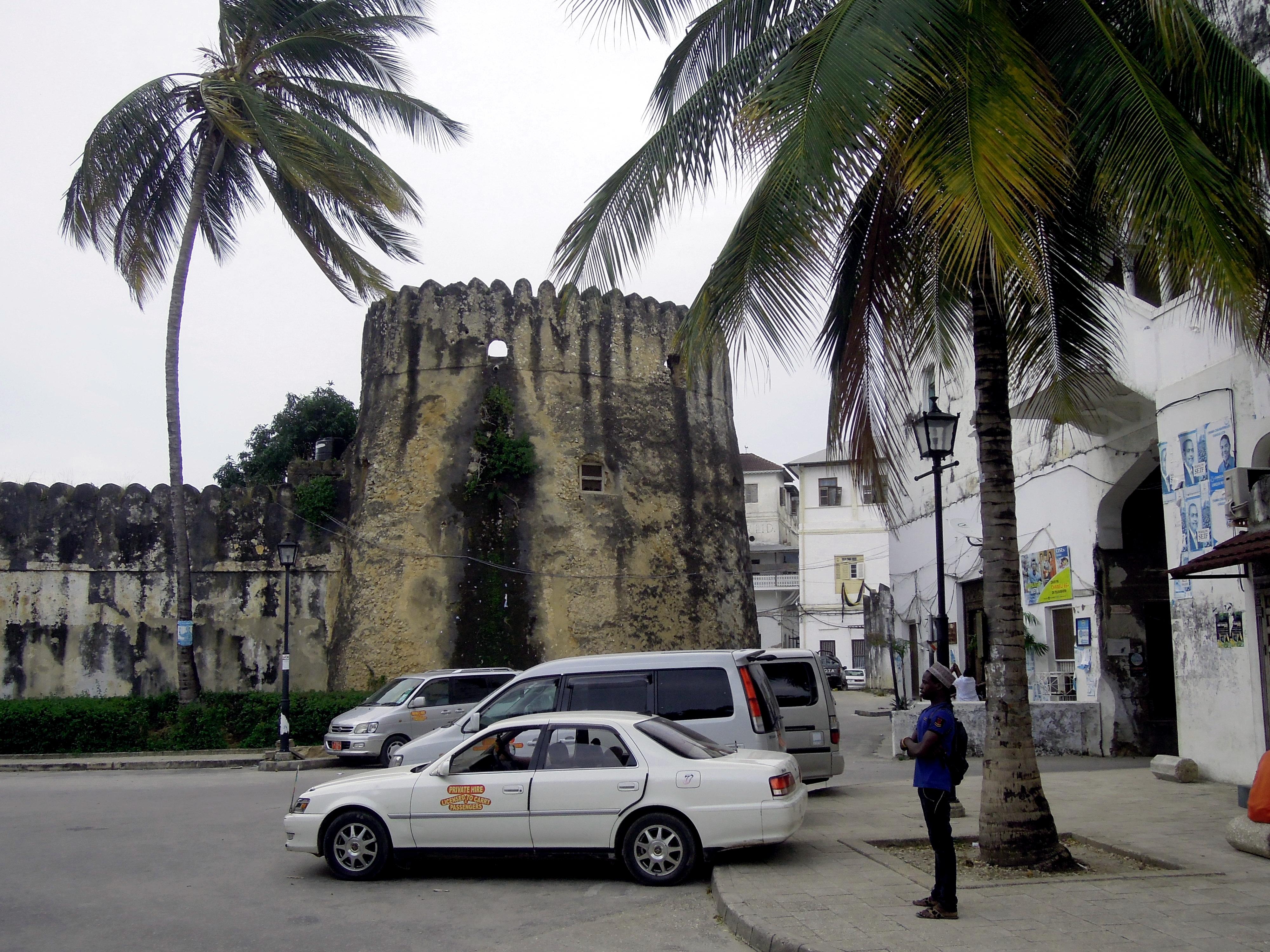 Fragment portugalskich fortyfikacji, Stone Town, Zanzibar, Tanzania, fot. M. Lehrmann